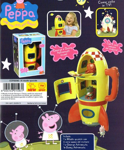 Peppa pig missile spaziale for Missile peppa pig